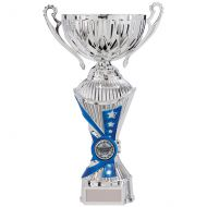 All Stars Heavyweight Cup Silver and Blue 250mm