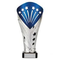 All Stars Legend Rapid Trophy Award Silver and Blue 205mm : New 2019