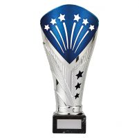 All Stars Legend Rapid Trophy Award Silver and Blue 215mm : New 2019