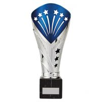 All Stars Legend Rapid Trophy Award Silver and Blue 235mm : New 2019