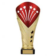 All Stars Legend Rapid Trophy Award Gold and Red 205mm : New 2019