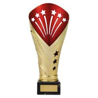 All Stars Legend Rapid Trophy Award Gold and Red 215mm : New 2019