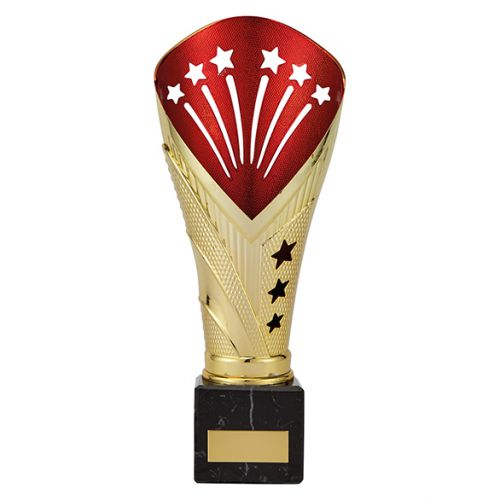 All Stars Legend Rapid Trophy Award Gold and Red 235mm : New 2019