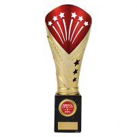 All Stars Legend Rapid Trophy Award Gold and Red 260mm : New 2019