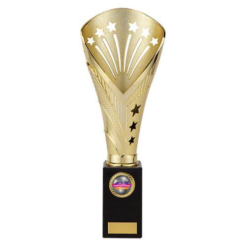 All Stars Premium Rapid Trophy Award Gold 330mm : New 2019