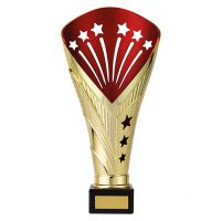 All Stars Premium Rapid Trophy Award Gold and Red 260mm : New 2019