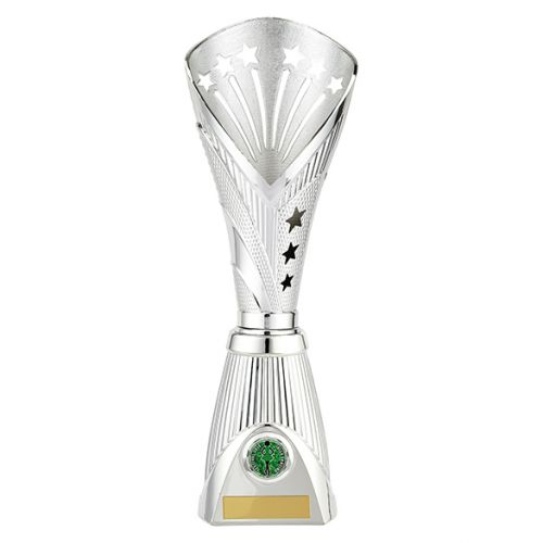 All Stars Deluxe Rapid Trophy Award Silver 360mm : New 2019