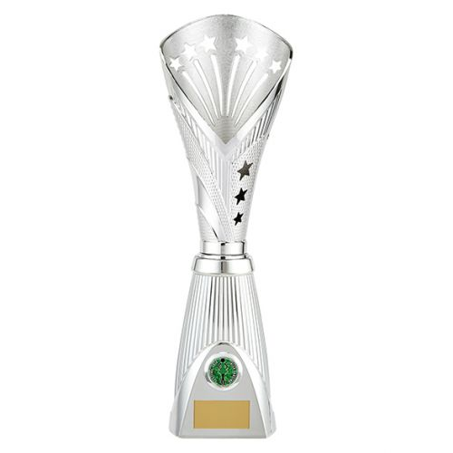 All Stars Deluxe Rapid Trophy Award Silver 385mm : New 2019