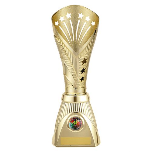 All Stars Deluxe Rapid Trophy Award Gold 285mm : New 2019
