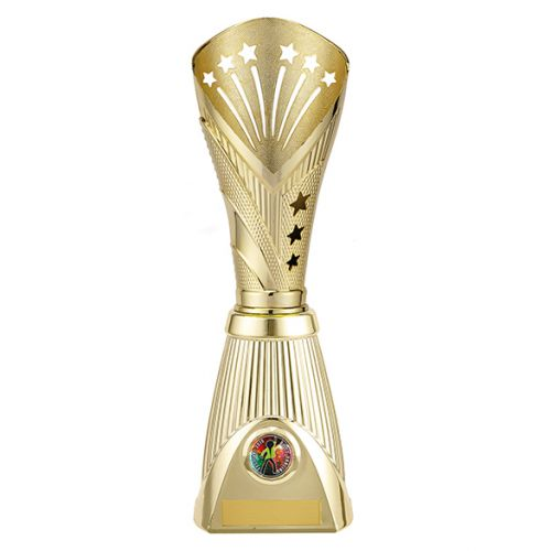 All Stars Deluxe Rapid Trophy Award Gold 315mm : New 2019
