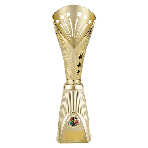 All Stars Deluxe Rapid Trophy Award Gold 385mm : New 2019