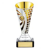Defender Football Plastic Trophy Award 140mm : New 2019