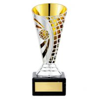 Defender Football Plastic Trophy Award 150mm : New 2019