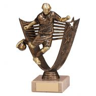 Cosmic Striker Football Male Trophy Award 180mm : New 2019