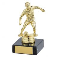 Dominion Football Trophy Award Gold 115mm : New 2019