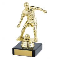 Dominion Football Trophy Award Gold 140mm : New 2019