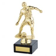 Dominion Football Trophy Award Gold 170mm : New 2019