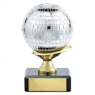 Glitterball Dance Trophy Award 100mm : New 2019
