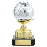Glitterball Dance Trophy Award 120mm : New 2019