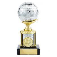 Glitterball Dance Trophy Award 155mm : New 2019