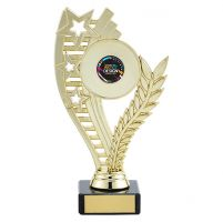 Athena Multi-Sport Trophy Award Gold 185mm : New 2019