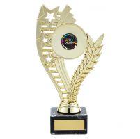 Athena Multi-Sport Trophy Award Gold 195mm : New 2019