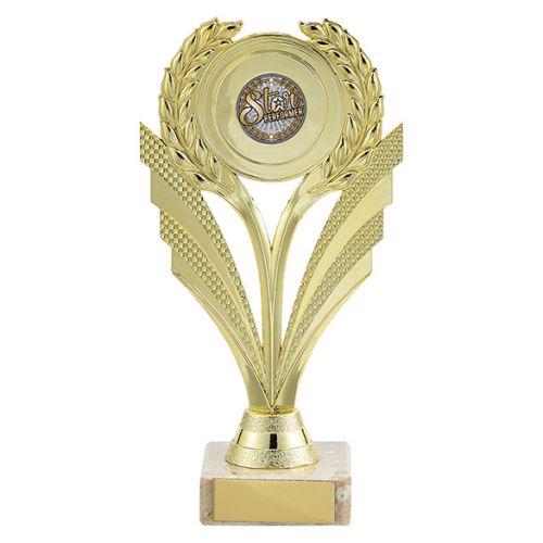 Amor Multi-Sport Trophy Award Gold 185mm : New 2019