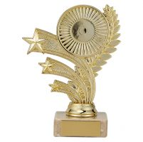 Cancun Multi-Sport Trophy Award Gold 135mm : New 2019