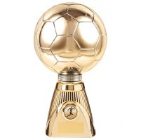 Planet Football Deluxe Rapid 2 Trophy Award Gold 255mm : New 2019