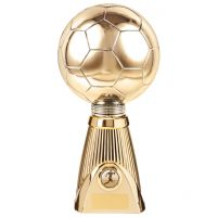 Planet Football Deluxe Rapid 2 Trophy Award Gold 285mm : New 2019