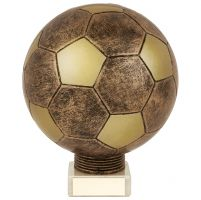 Planet Football Legend Rapid 2 Trophy Award Antique Bronze and Gold 175mm : New 2019