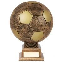 Planet Football Legend Rapid 2 Trophy Award Antique Bronze and Gold 185mm : New 2019