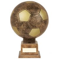 Planet Football Legend Rapid 2 Trophy Award Antique Bronze and Gold 210mm : New 2019