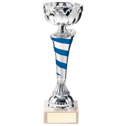 Eternity Presentation Cup Silver and Blue 170mm : New 2020