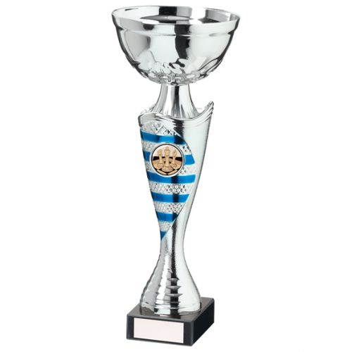 Commander Presentation Cup Silver and Blue 255mm : New 2020