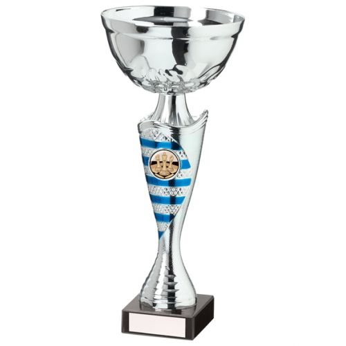 Commander Presentation Cup Silver and Blue 265mm : New 2020