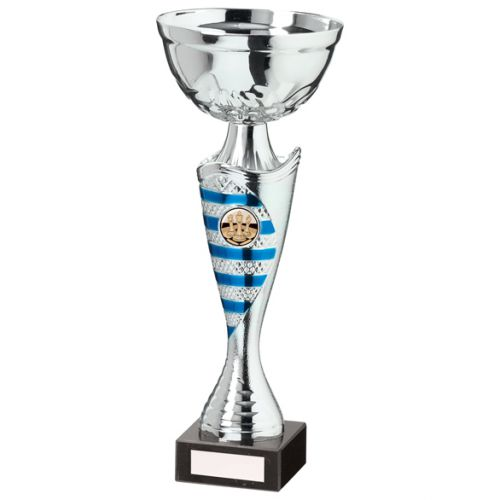 Commander Presentation Cup Silver and Blue 290mm : New 2020