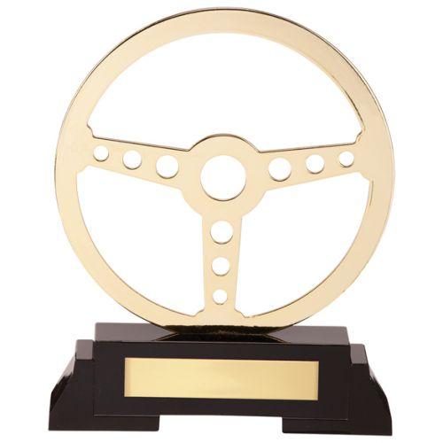Arcadia Steering Wheel Metal Trophy Award 190mm : New 2020