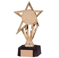 High Star Gold Trophy Award 210mm