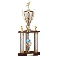 Colossus Triple Tower Trophy 615mm